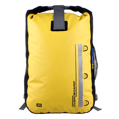 OverBoard-Classic Waterproof Backpack - 30 Litres-Waterproof Backpack-Yellow-Gearaholic.com.sg