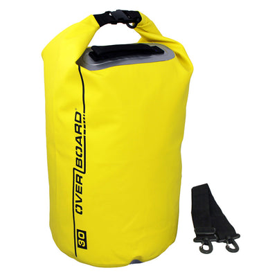 OverBoard-Waterproof Dry Tube Bag - 30 Litre-Waterproof Dry Tube-Yellow-Gearaholic.com.sg