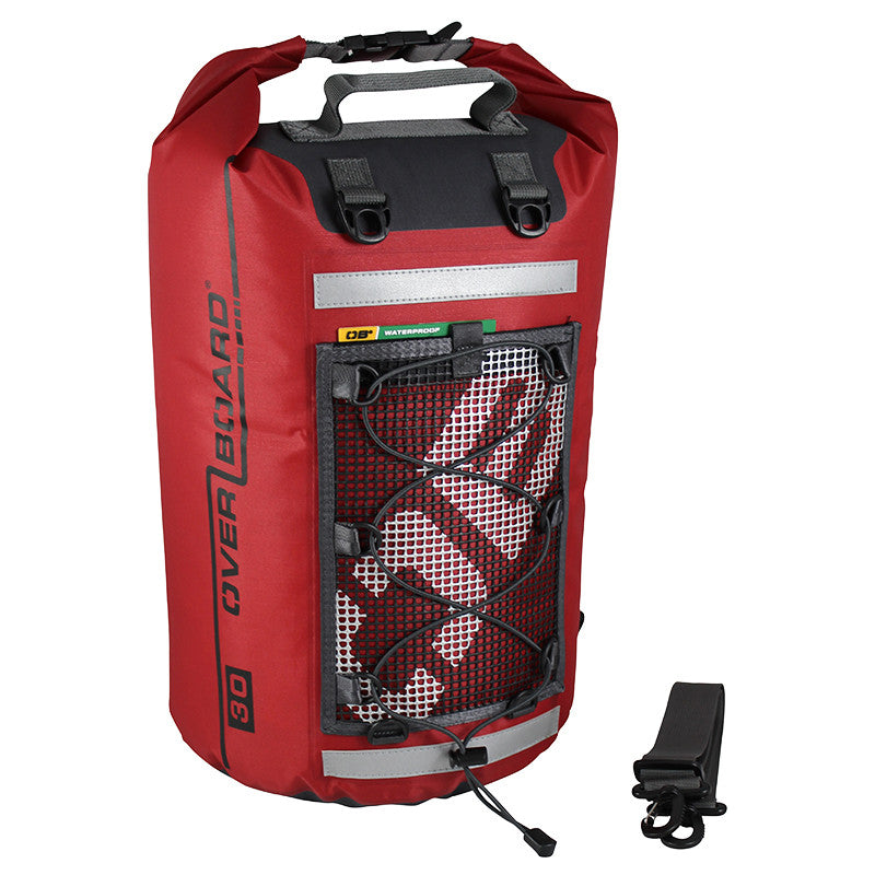 OverBoard-Ultra-Light Dry Tube - 30 Litres-Waterproof Dry Tube-Red-Gearaholic.com.sg