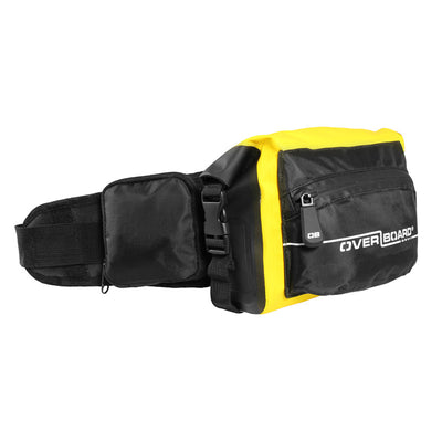OverBoard-Waterproof Waist Pack - 2 Litre-Waterproof Waist Pack-Yellow-Gearaholic.com.sg