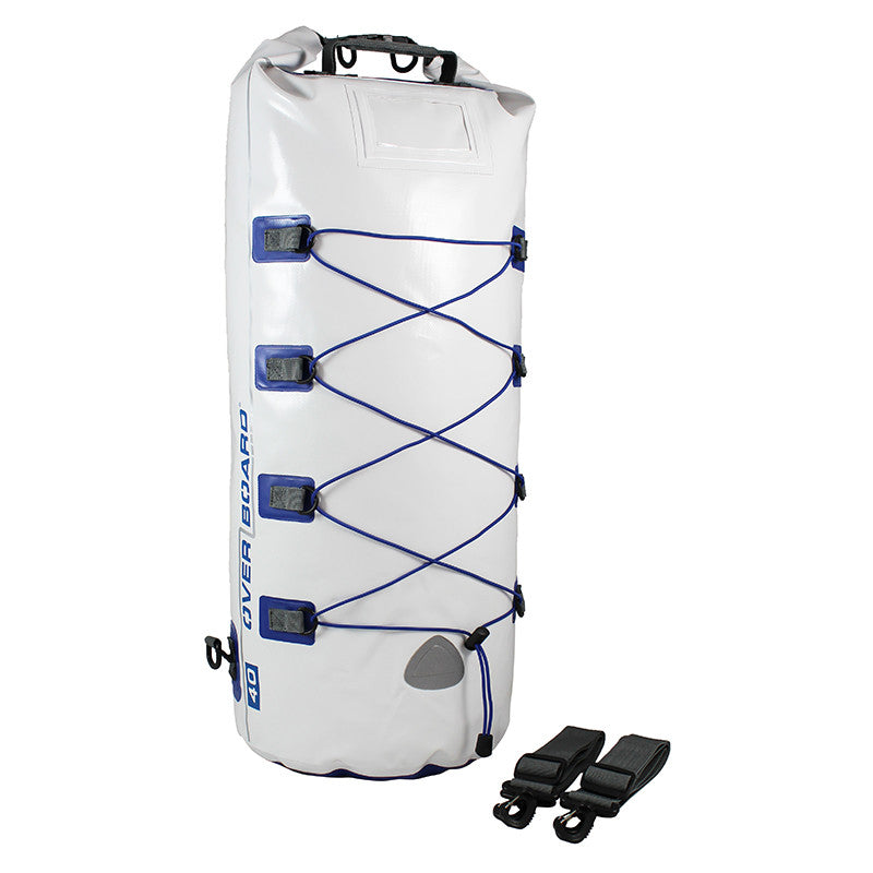 OverBoard-Waterproof Boat Master Dry Tube - 40 Litres-Waterproof Dry Tube-White-Gearaholic.com.sg