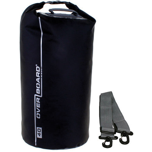 OverBoard-Waterproof Dry Tube Bag - 40 Litre-Waterproof Dry Tube-Black-Gearaholic.com.sg