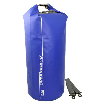 OverBoard-Waterproof Dry Tube Bag - 40 Litre-Waterproof Dry Tube-Blue-Gearaholic.com.sg