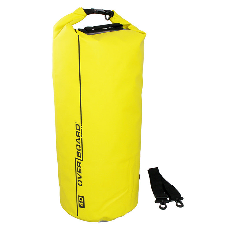 OverBoard-Waterproof Dry Tube Bag - 40 Litre-Waterproof Dry Tube-Yellow-Gearaholic.com.sg