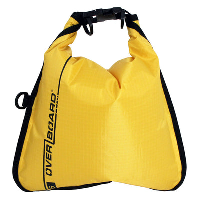 OverBoard-Waterproof Dry Flat Bag - 5 Litres-Waterproof Dry Tube-Yellow-Gearaholic.com.sg