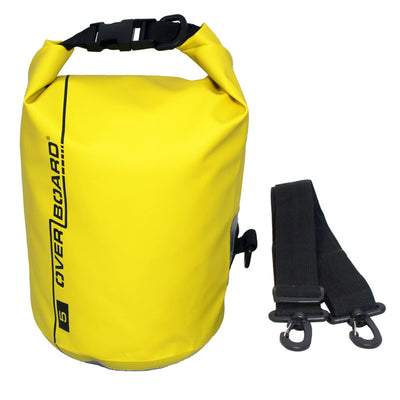 OverBoard-Waterproof Dry Tube Bag - 5 Litre-Waterproof Dry Tube-Yellow-Gearaholic.com.sg