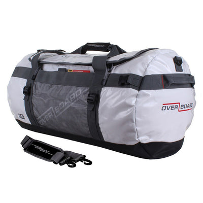 OverBoard-Adventure Duffel Bag - 60 Litres-Duffel-White-Gearaholic.com.sg