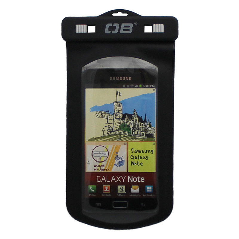 OverBoard-Waterproof Large Phone Case-Waterproof Phone Case-Black-Gearaholic.com.sg