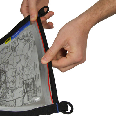 OverBoard-Waterproof Map Pouch - A4-Waterproof Map Case-Black-Gearaholic.com.sg