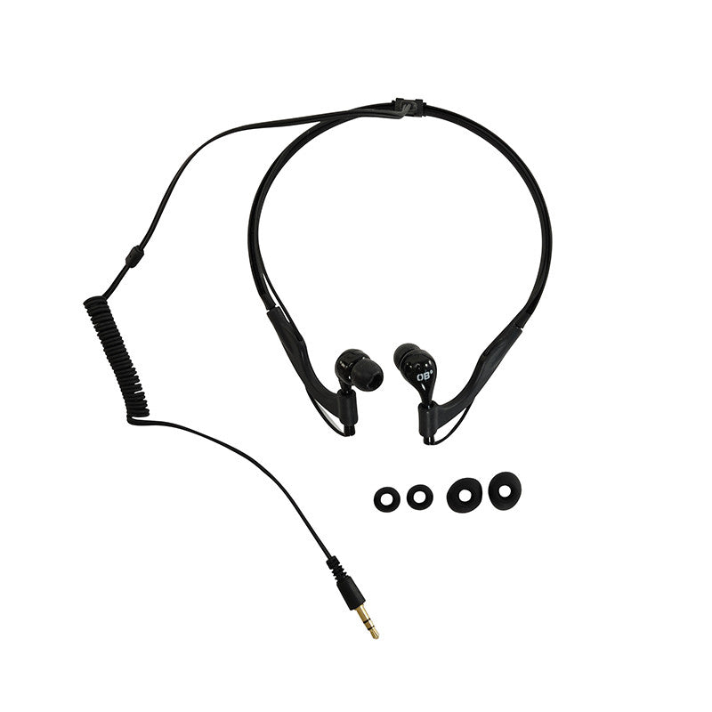OverBoard-Pro-Sports Waterproof Headphones-Waterproof Headphones-Black-Gearaholic.com.sg