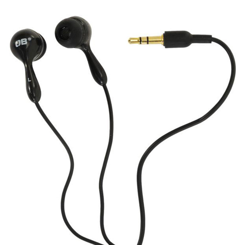 OverBoard-Waterproof Earphones-Waterproof Headphones-Black-Gearaholic.com.sg