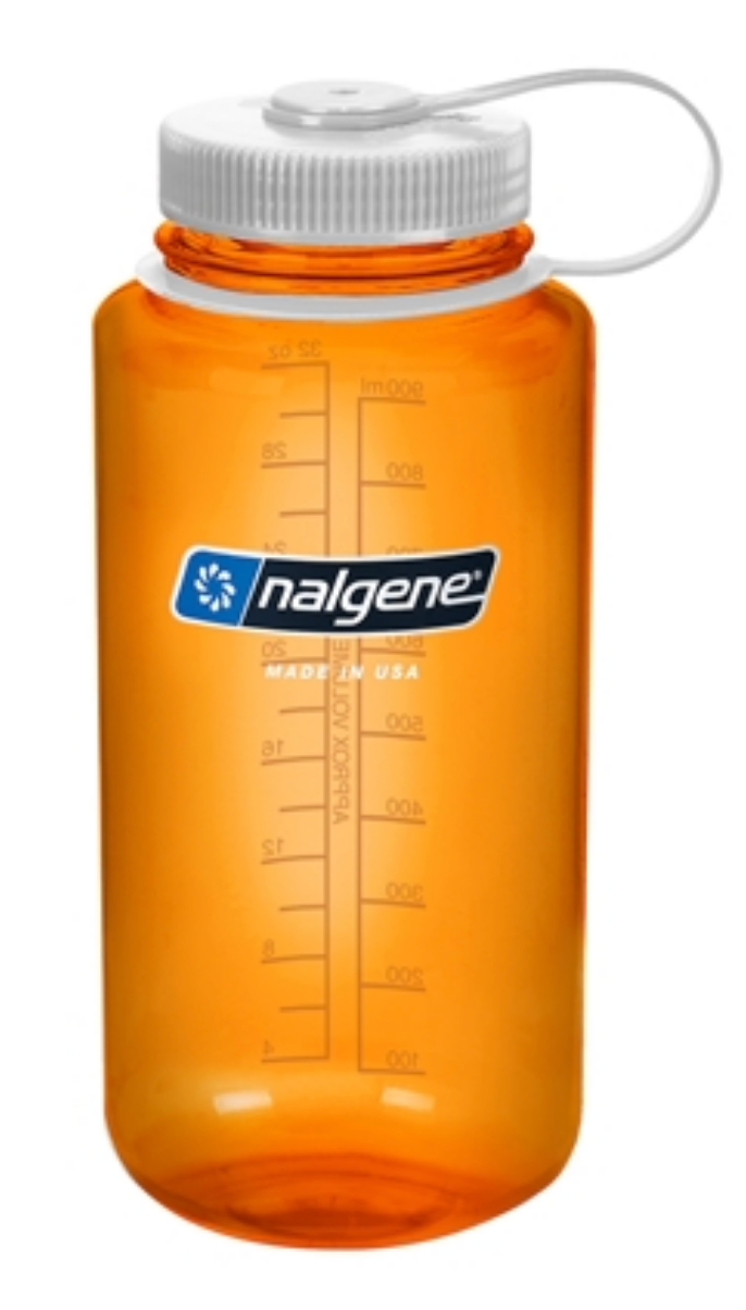Nalgene-32oz 1L Wide Mouth BPA Free Water Bottle-Water Bottle-Orange-Gearaholic.com.sg
