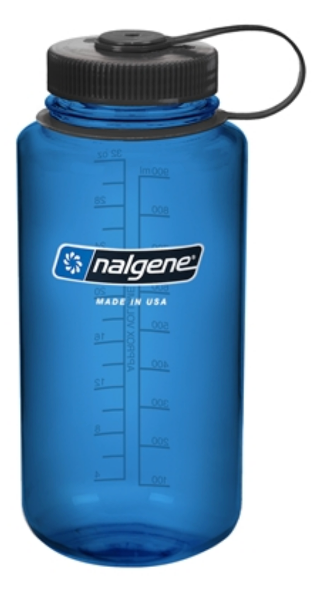 Nalgene-32oz 1L Wide Mouth BPA Free Water Bottle-Water Bottle-Slate-Gearaholic.com.sg
