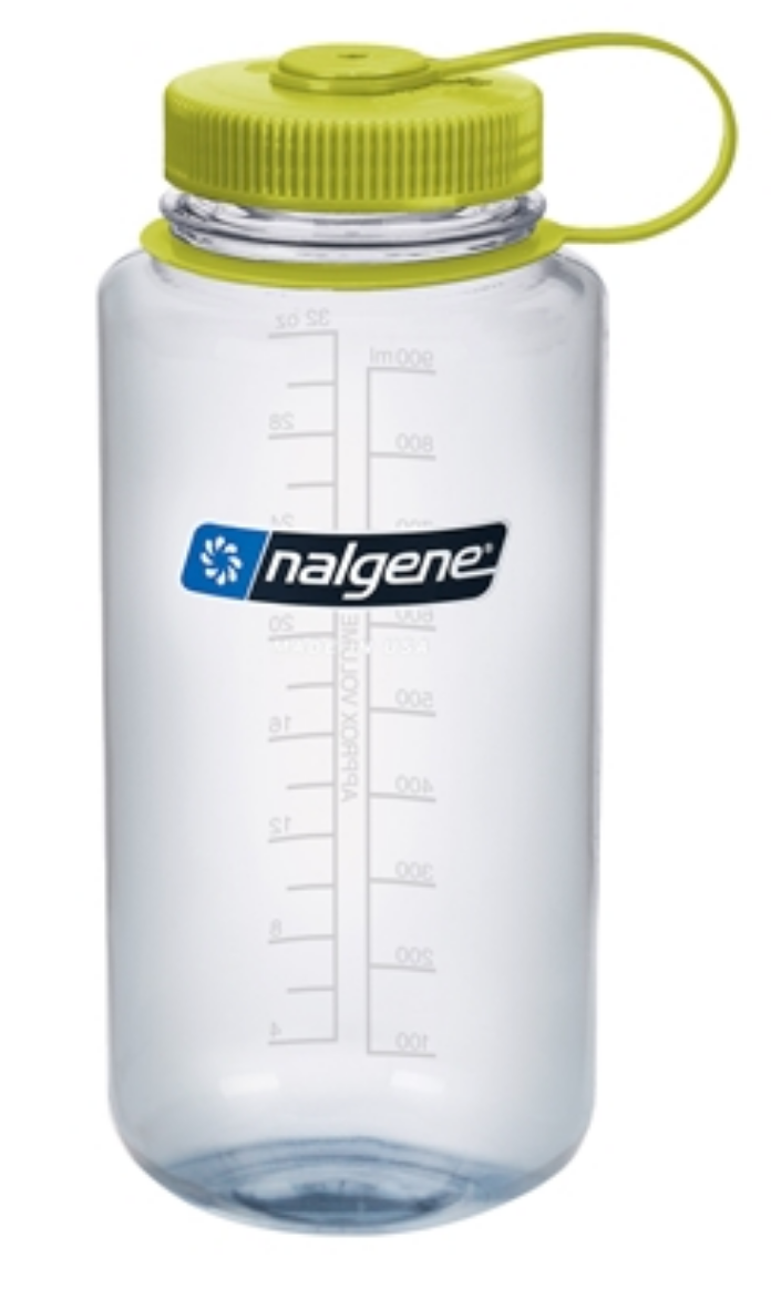 Nalgene-32oz 1L Wide Mouth BPA Free Water Bottle-Water Bottle-Clear-Gearaholic.com.sg