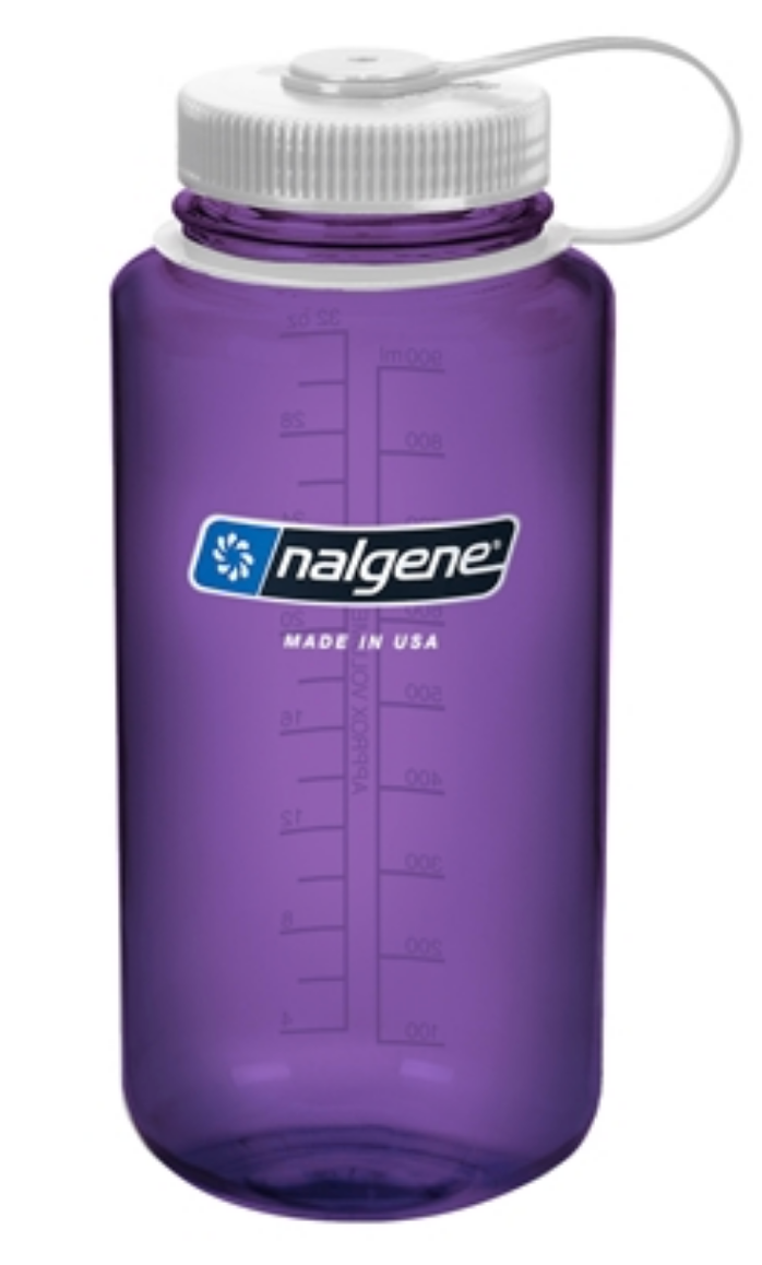 Nalgene-32oz 1L Wide Mouth BPA Free Water Bottle-Water Bottle-Purple-Gearaholic.com.sg