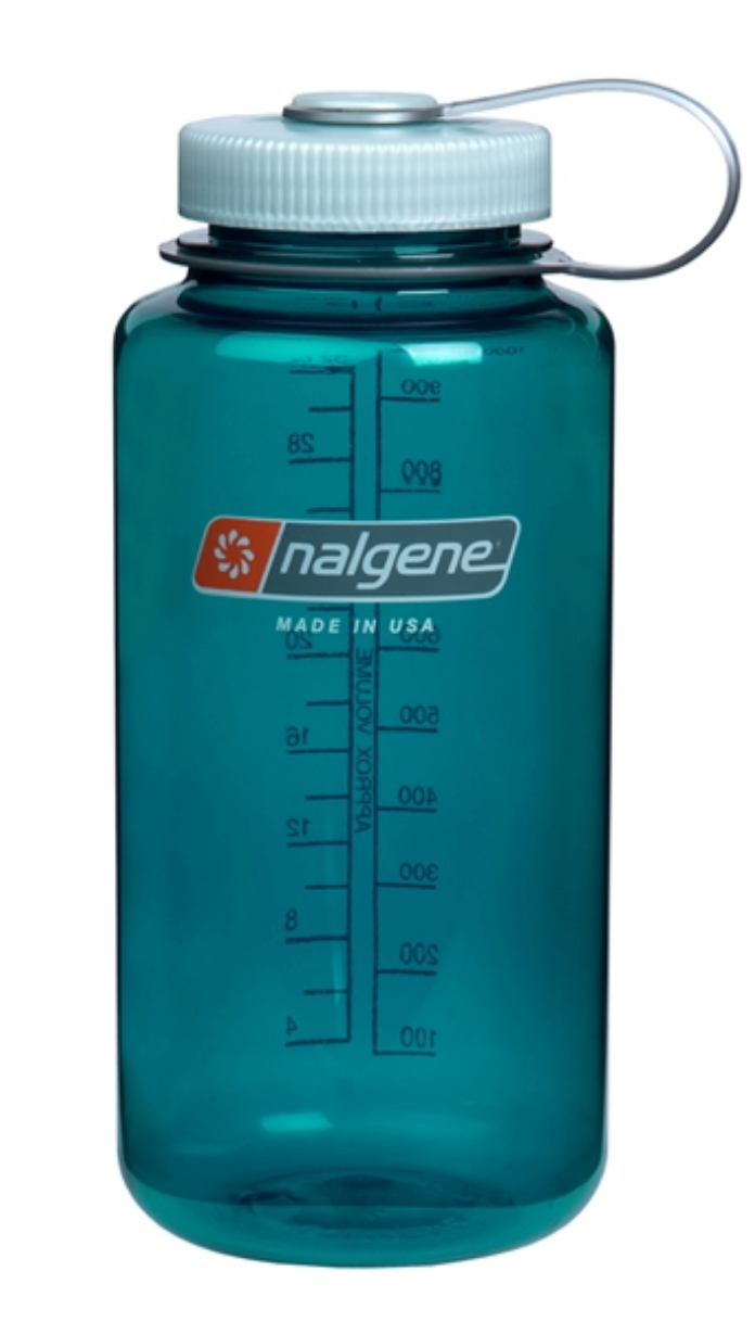 Nalgene-32oz 1L Wide Mouth BPA Free Water Bottle-Water Bottle-Trout Green-Gearaholic.com.sg