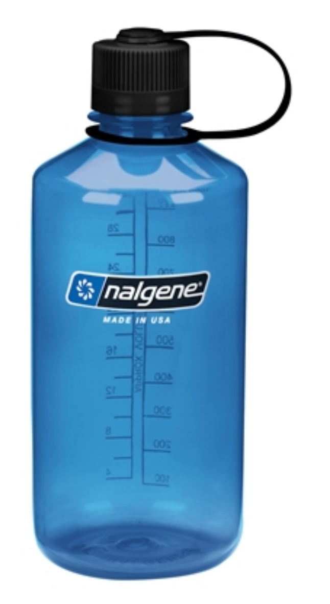 Nalgene-32oz 1L Narrow Mouth BPA Free Water Bottle-Water Bottle-Slate-Gearaholic.com.sg