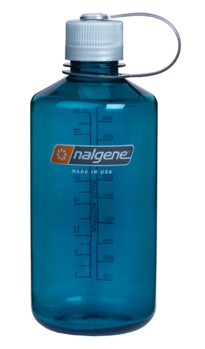 Nalgene-32oz 1L Narrow Mouth BPA Free Water Bottle-Water Bottle-Trout Green-Gearaholic.com.sg