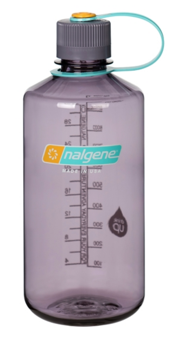 Nalgene-32oz 1L Narrow Mouth BPA Free Water Bottle-Water Bottle-Aubergine-Gearaholic.com.sg