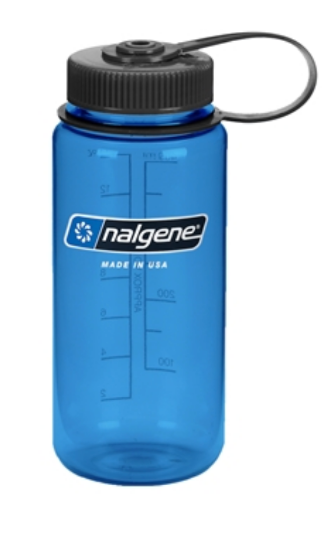 Nalgene-16oz 500ml Wide Mouth BPA Free Water Bottle-Water Bottle-Slate-Gearaholic.com.sg