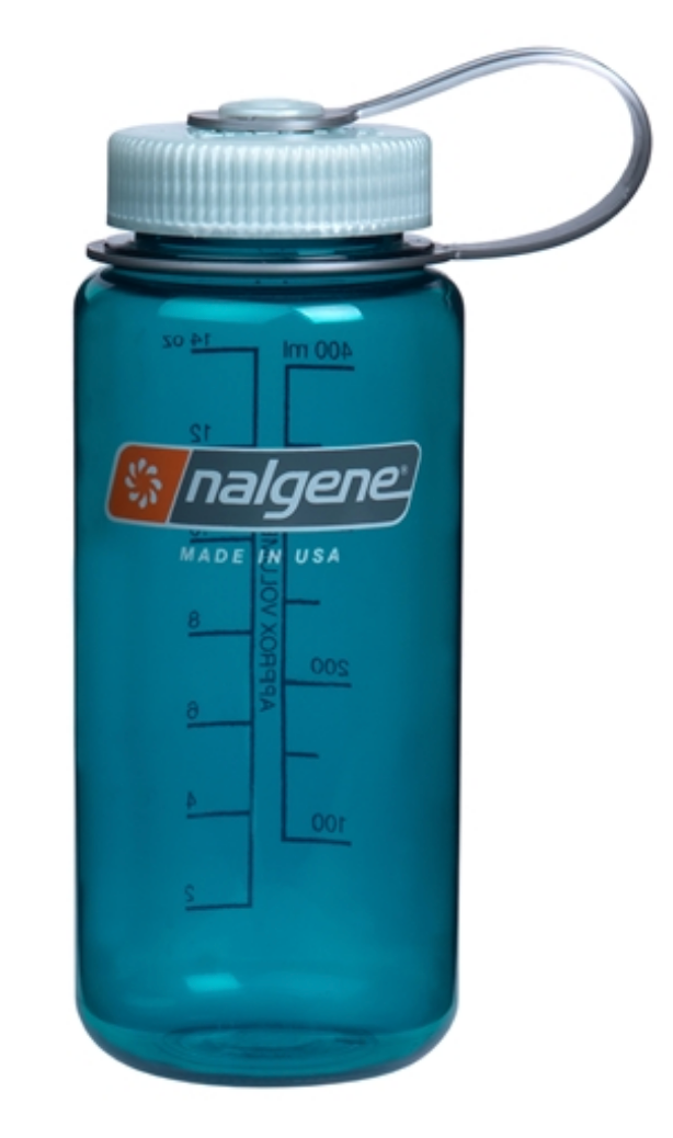 Nalgene-16oz 500ml Wide Mouth BPA Free Water Bottle-Water Bottle-Trout Green-Gearaholic.com.sg