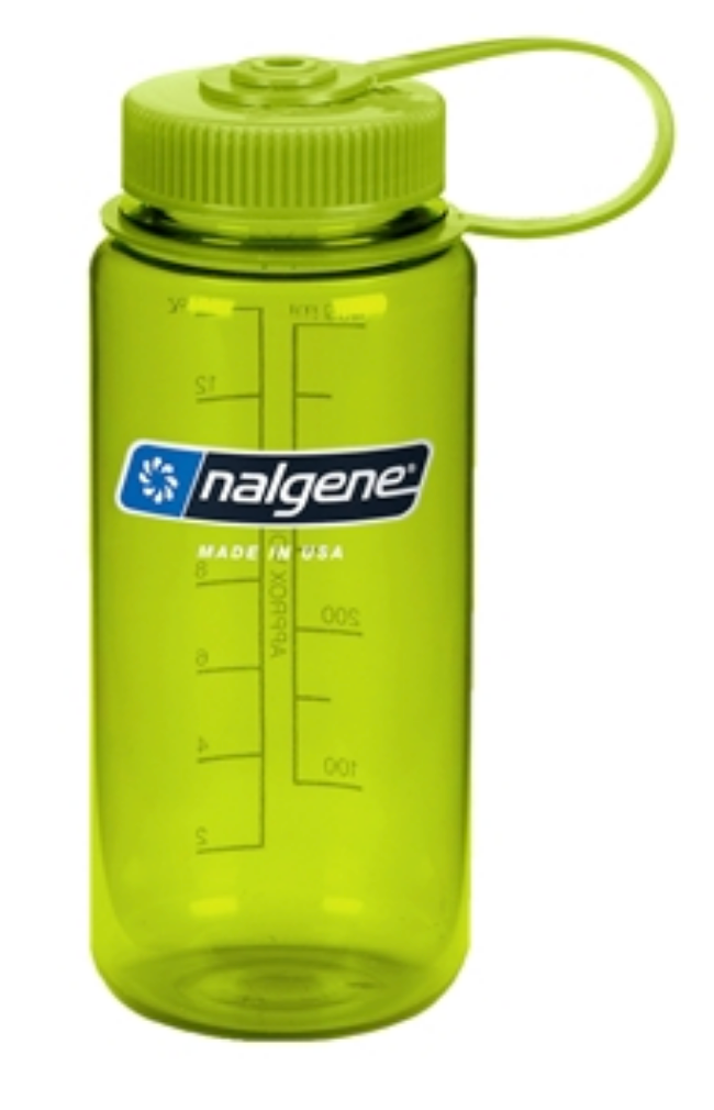 Nalgene-16oz 500ml Wide Mouth BPA Free Water Bottle-Water Bottle-Spring Green-Gearaholic.com.sg