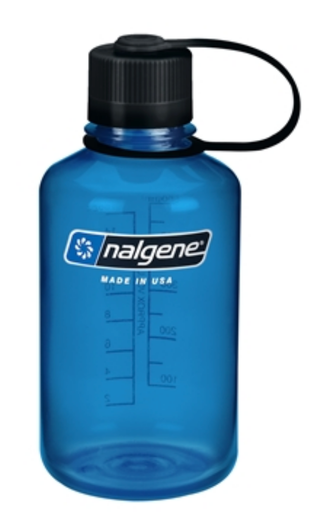 Nalgene-16oz 500ml Narrow Mouth BPA Free Water Bottle-Water Bottle-Slate-Gearaholic.com.sg