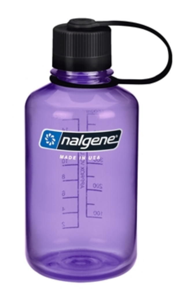 Nalgene-16oz 500ml Narrow Mouth BPA Free Water Bottle-Water Bottle-Purple-Gearaholic.com.sg