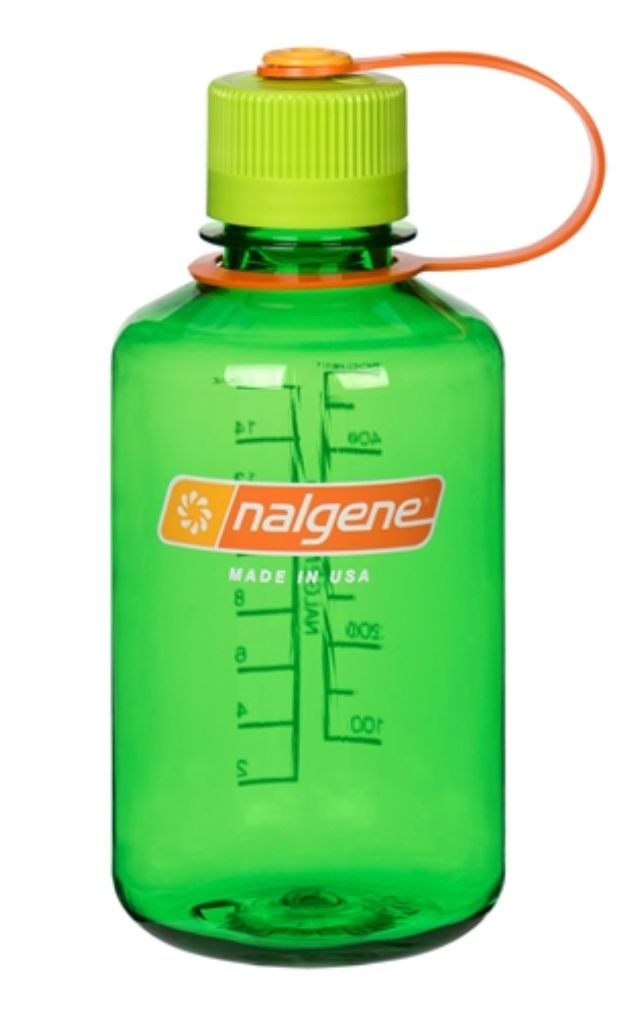 Nalgene-16oz 500ml Narrow Mouth BPA Free Water Bottle-Water Bottle-Melon Ball-Gearaholic.com.sg