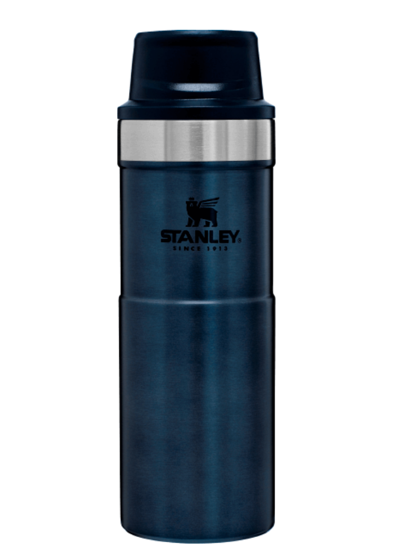 Stanley-Classic Trigger Action Travel Mug 591ml 16oz-Vacuum Bottle-Night Fall-Gearaholic.com.sg