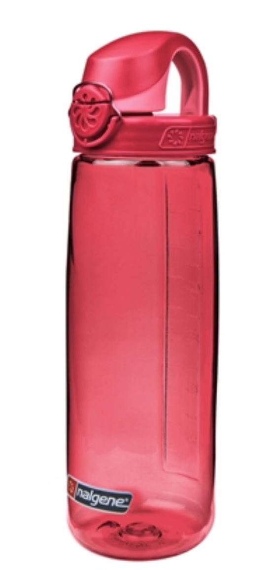 Nalgene-24Oz 709ml On The Fly (OTF) BPA-Free Water Bottle-Water Bottle-Beet Red-Gearaholic.com.sg