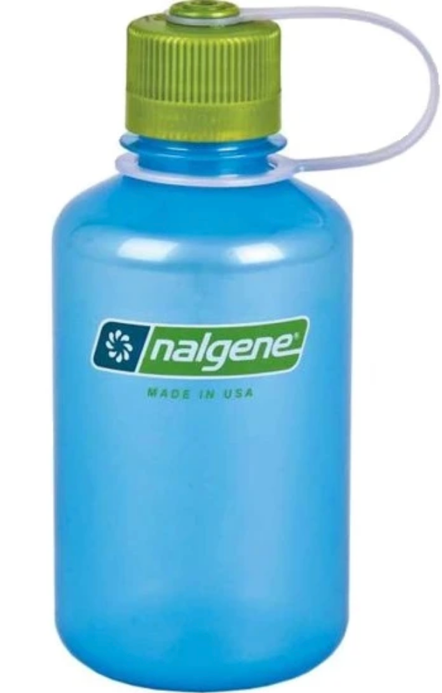 Nalgene-32oz 1L Narrow Mouth BPA Free Water Bottle-Water Bottle-Sky-Gearaholic.com.sg