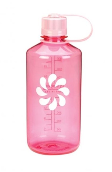 Nalgene-16oz 500ml Narrow Mouth BPA Free Water Bottle-Water Bottle-Pink-Gearaholic.com.sg