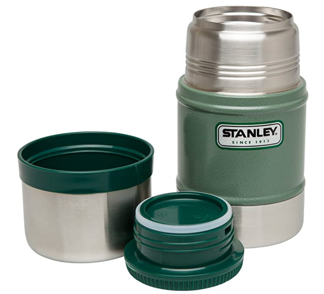 Stanley-Classic Vacuum Food Jar 502ml/709ml Replacement Cap 98mm-Replacement Part-Green-Gearaholic.com.sg