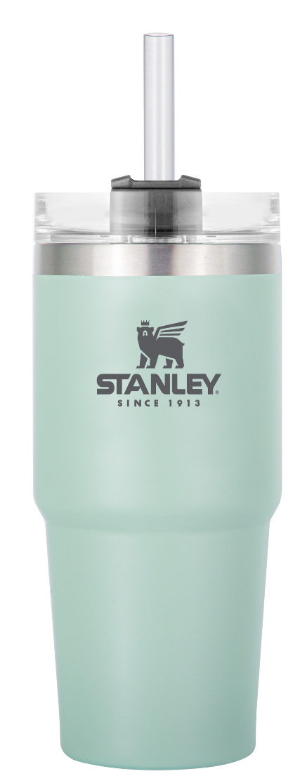 Stanley-Adventure Series Quencher Tumbler 473ml-Vacuum Bottle-Opaque Mint-Gearaholic.com.sg