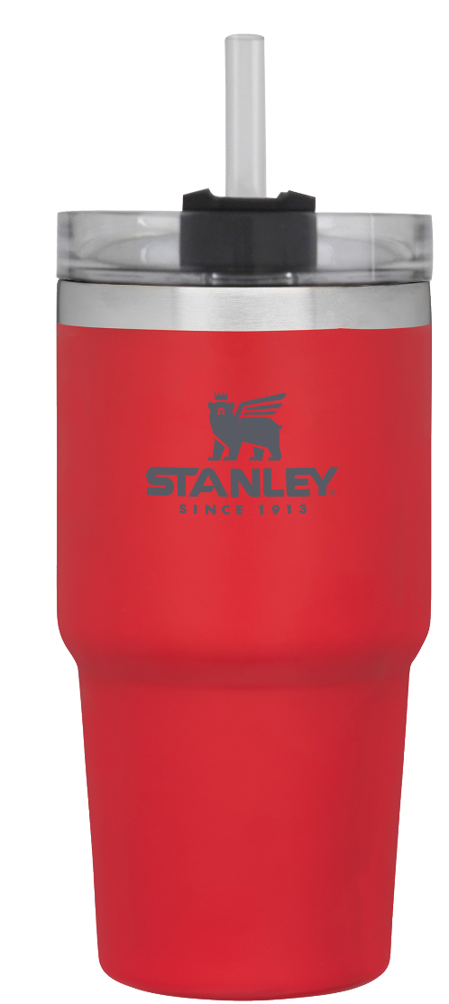 Stanley-Adventure Series Quencher Tumbler 680ml-Vacuum Bottle-Flannel Red-Gearaholic.com.sg