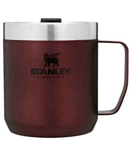 Stanley-Classic Series Legendary Camp Mug 12oz 350ml-Mugs-Wine Red-Gearaholic.com.sg
