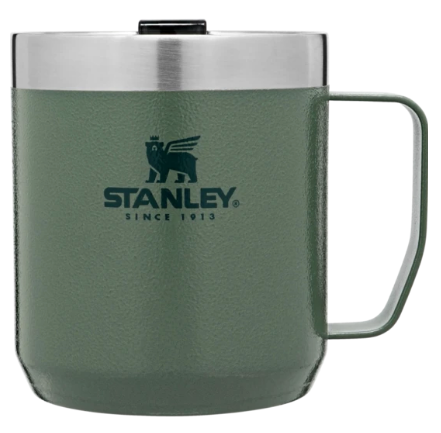 Stanley-Classic Series Legendary Camp Mug 12oz 350ml-Mugs-Hammertone Green-Gearaholic.com.sg