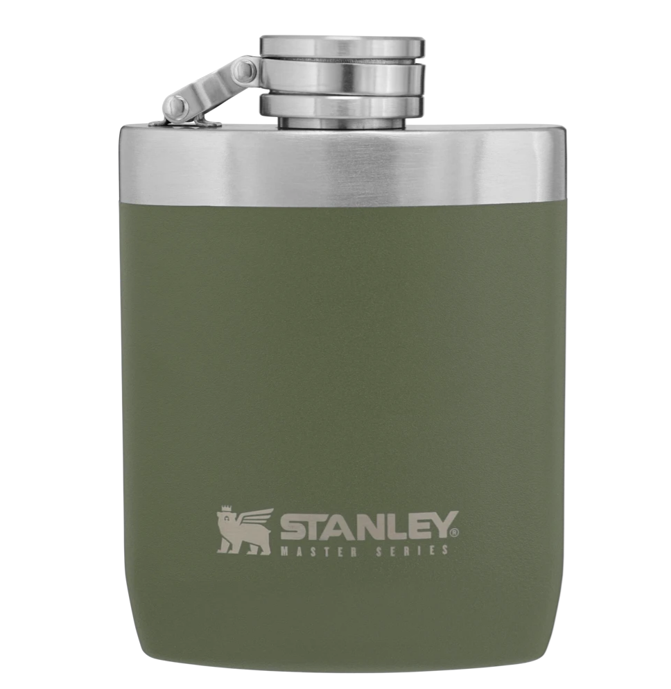 Stanley-Master Flask 8oz 236ml Toughest of the Tough-Alcohol Flask-Olive Drab-Gearaholic.com.sg