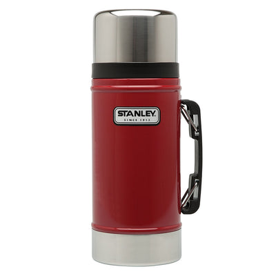 Stanley-Classic Vacuum Food Jar 0.7L-Vacuum Food Jar-Red-Gearaholic.com.sg
