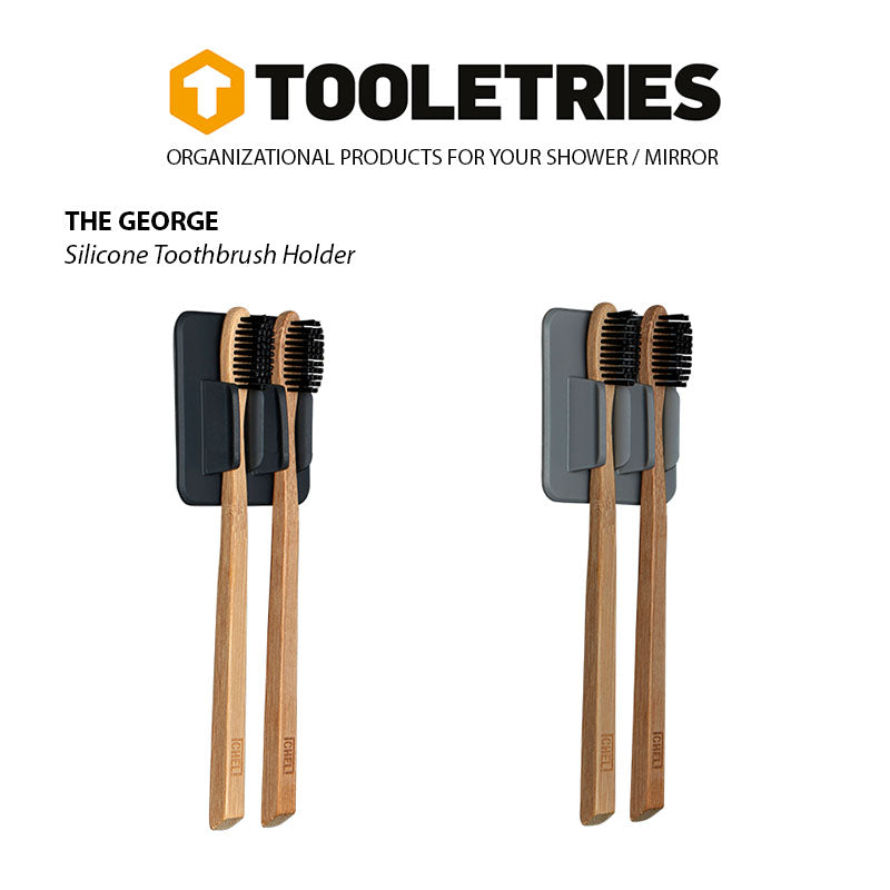 Tooletries-The George-Toothbrush Holder Rack-Packing Organizer-Gearaholic.com.sg