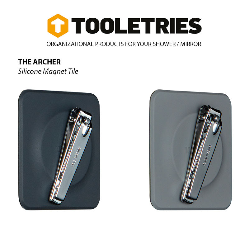 Shop for Tooletries at Tooletries Magnet Tile - The Archer at Gearaholic.com.sg