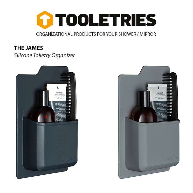 Shop for Tooletries at Tooletries Silicone Toiletry Organizer - The James at Gearaholic.com.sg