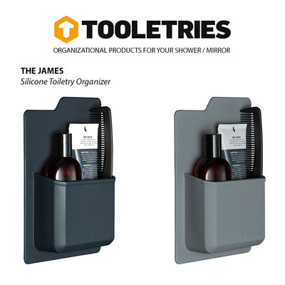 Tooletries-Tooletries Silicone Toiletry Organizer - The James-Other Accessories-Gearaholic.com.sg