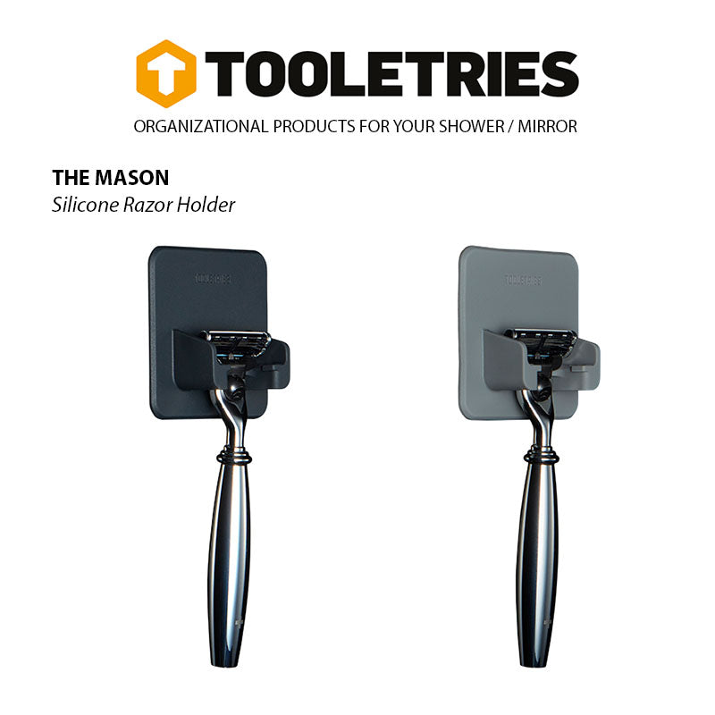 Tooletries-The Mason - Razor Holder-Other Accessories-Gearaholic.com.sg