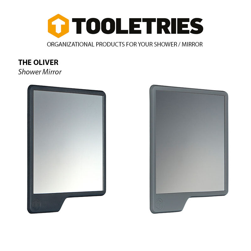 Tooletries-The Oliver - Shower Mirror-Other Accessories-Gearaholic.com.sg