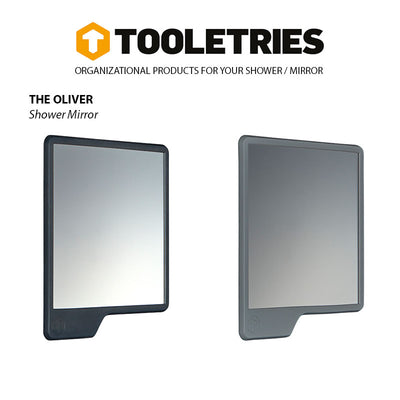 Shop for Tooletries at Tooletries Shower Mirror (Fog-resistant) - The Oliver at Gearaholic.com.sg