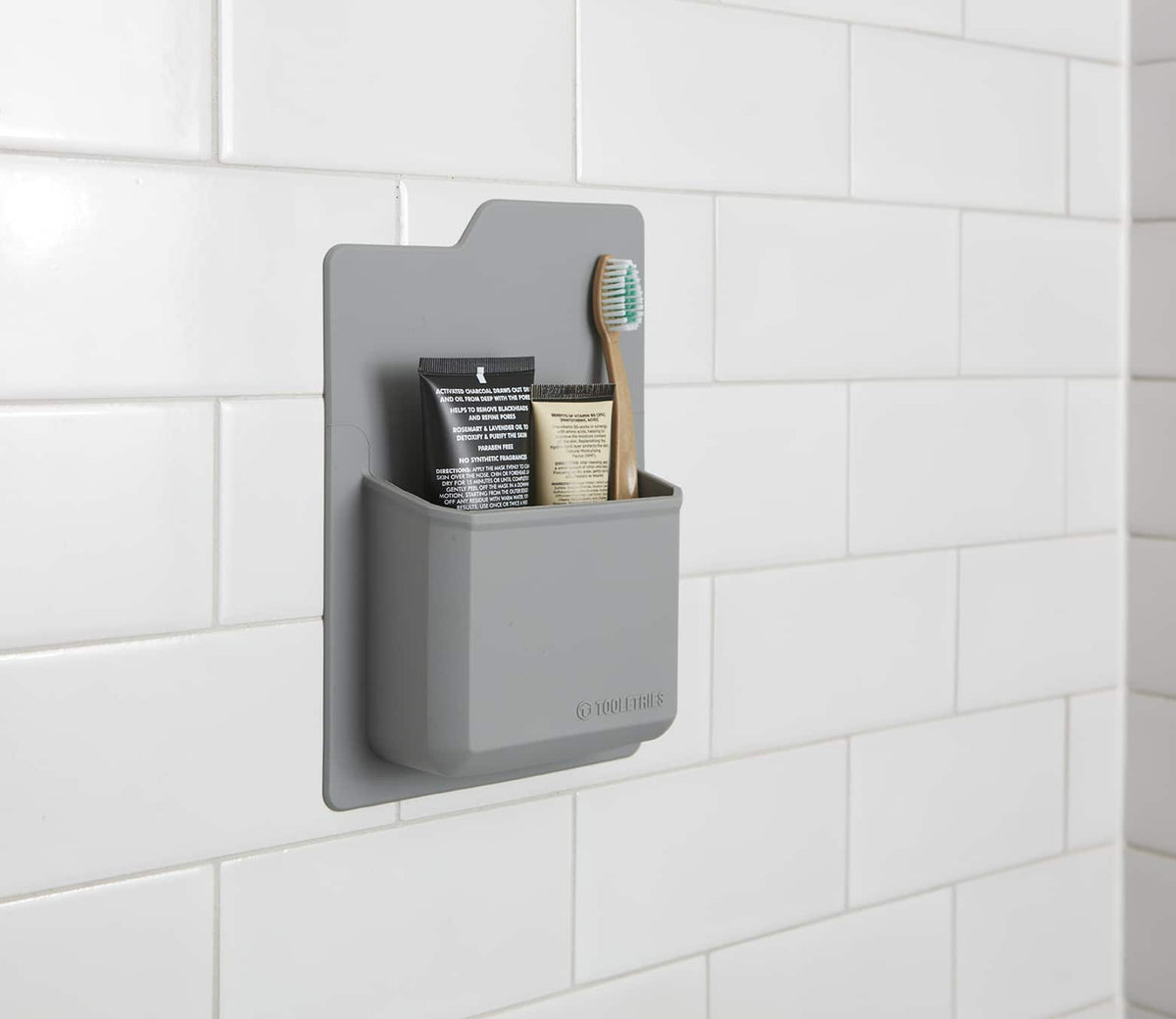 Tooletries-The James - Toiletry Organiser-Other Accessories-Grey-Gearaholic.com.sg