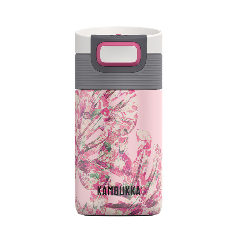 Kambukka-Etna 300ml-Vacuum Bottle-Monstera Leaves-Gearaholic.com.sg