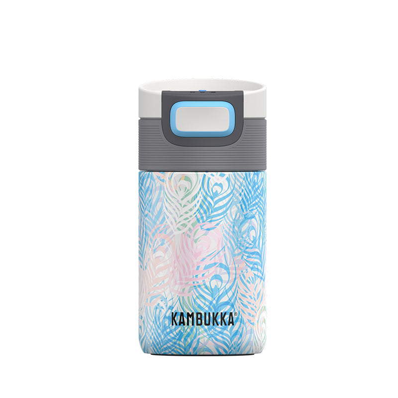 Kambukka-Etna 300ml-Vacuum Bottle-Peacock Feather-Gearaholic.com.sg